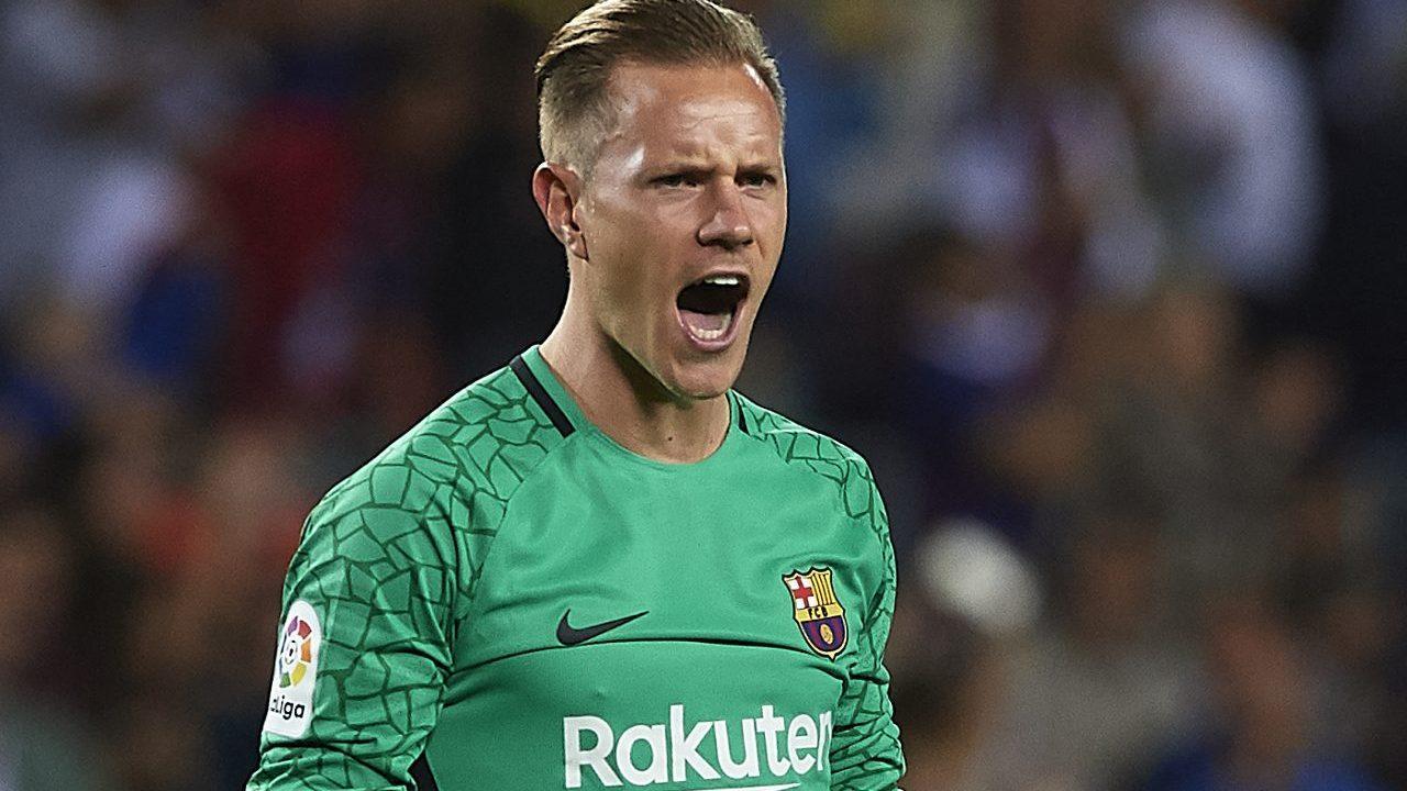 Arquero Ter Stegen se perderá final de Copa del Reyque disputará Barcelona ante Valencia