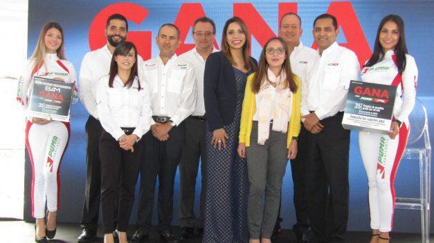 """Inicia promoción """"Gana con Puma"""", que sorteará vehículos y dotaciones de combustible"""