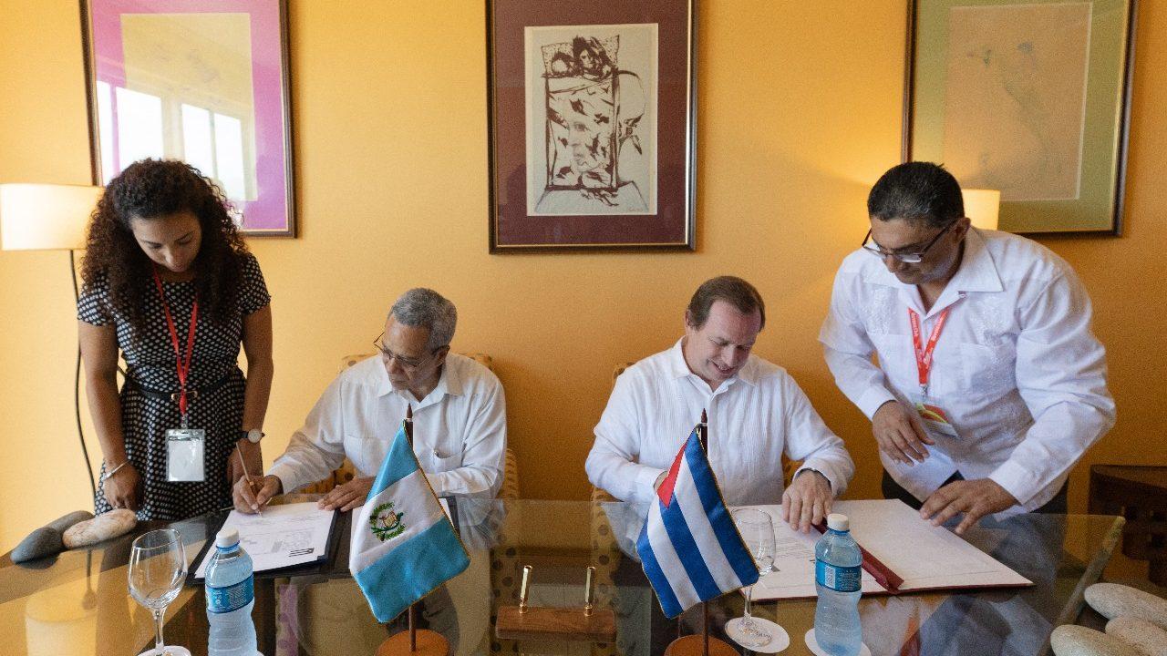Guatemala y Cuba fortalecen intercambio comercial con acuerdo bilateral