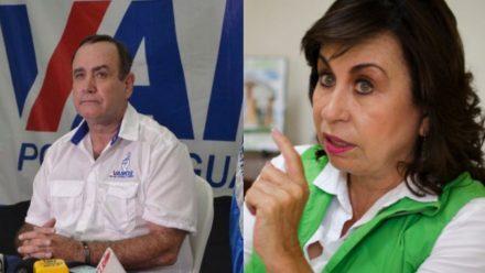 Sandra Torres y Alejandro Giammattei se perfilan como candidatos presidenciales ganadores
