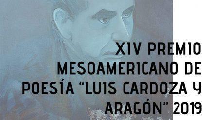 Convocan a edición 2019 de Premio Mesoamericano de Poesía.