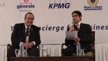 Giammattei se compromete ante empresarios a crear condiciones para significativo crecimiento de la economía