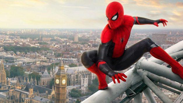 Cinta «Spiderman. Lejos de casa», a la cabeza en la taquilla en EEUU