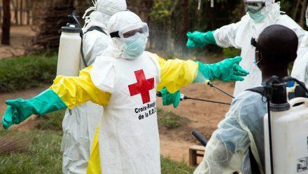 """OMS declara """"Emergencia de Salud Pública"""" debido a una nueva epidemia de ébola en el Congo."""
