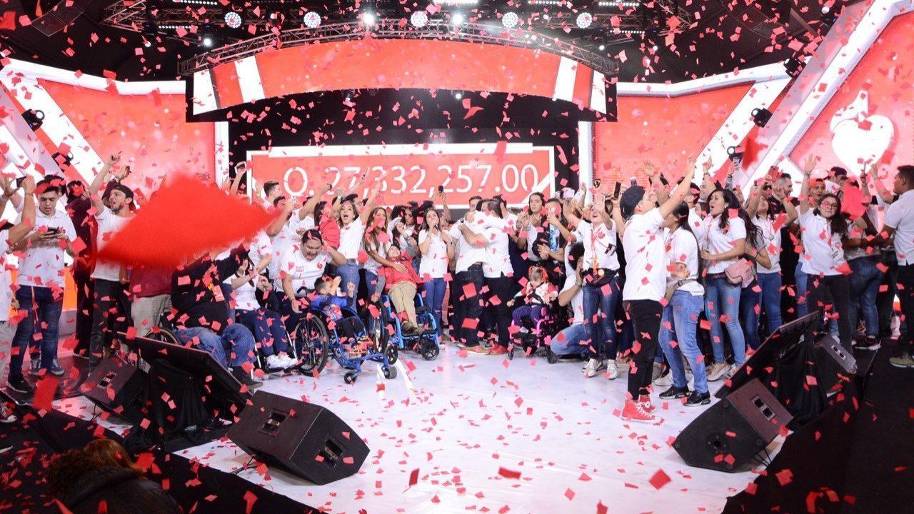 Solidaridad y unión de guatemaltecos permite a Teletón 2019 alcanzar meta