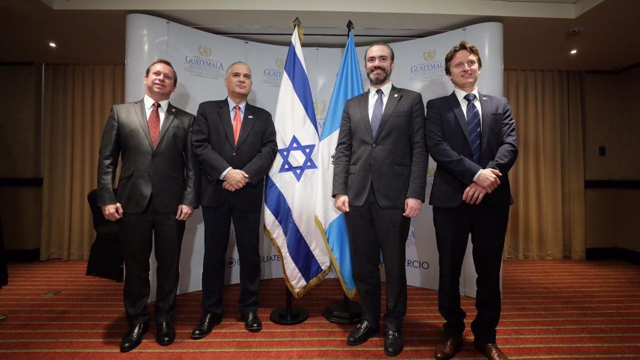 Guatemala e Israel avanzan en acuerdo comercial que incrementará intercambio de manera significativa