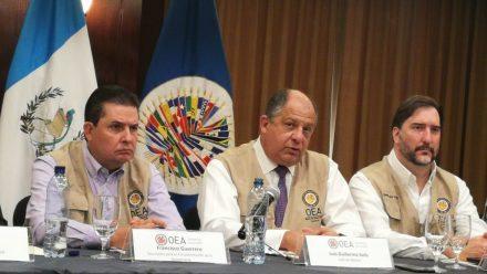 """OEA concluye que elecciones en segunda vuelta fueron """"exitosas"""" y recomienda medidas para mejorar procesos"""