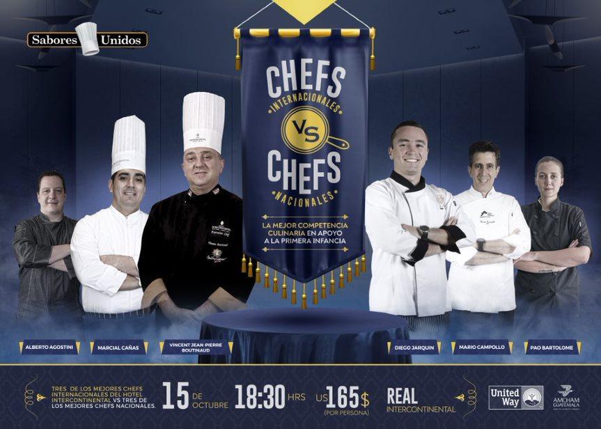 Sabores Unidos presenta la segunda edición de  Chefs vs Chefs