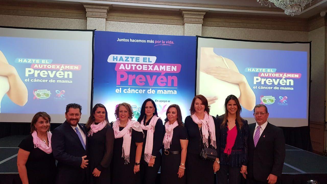 Alianza entre Salvavidas y Fundecán impulsa prevención de cáncer de mama
