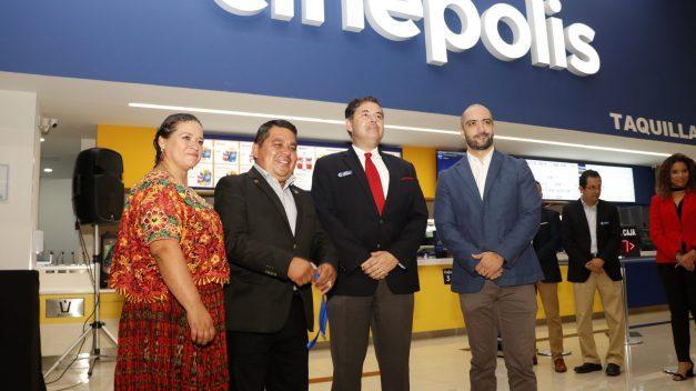 Cinepolis llega a San Pedro Carchá
