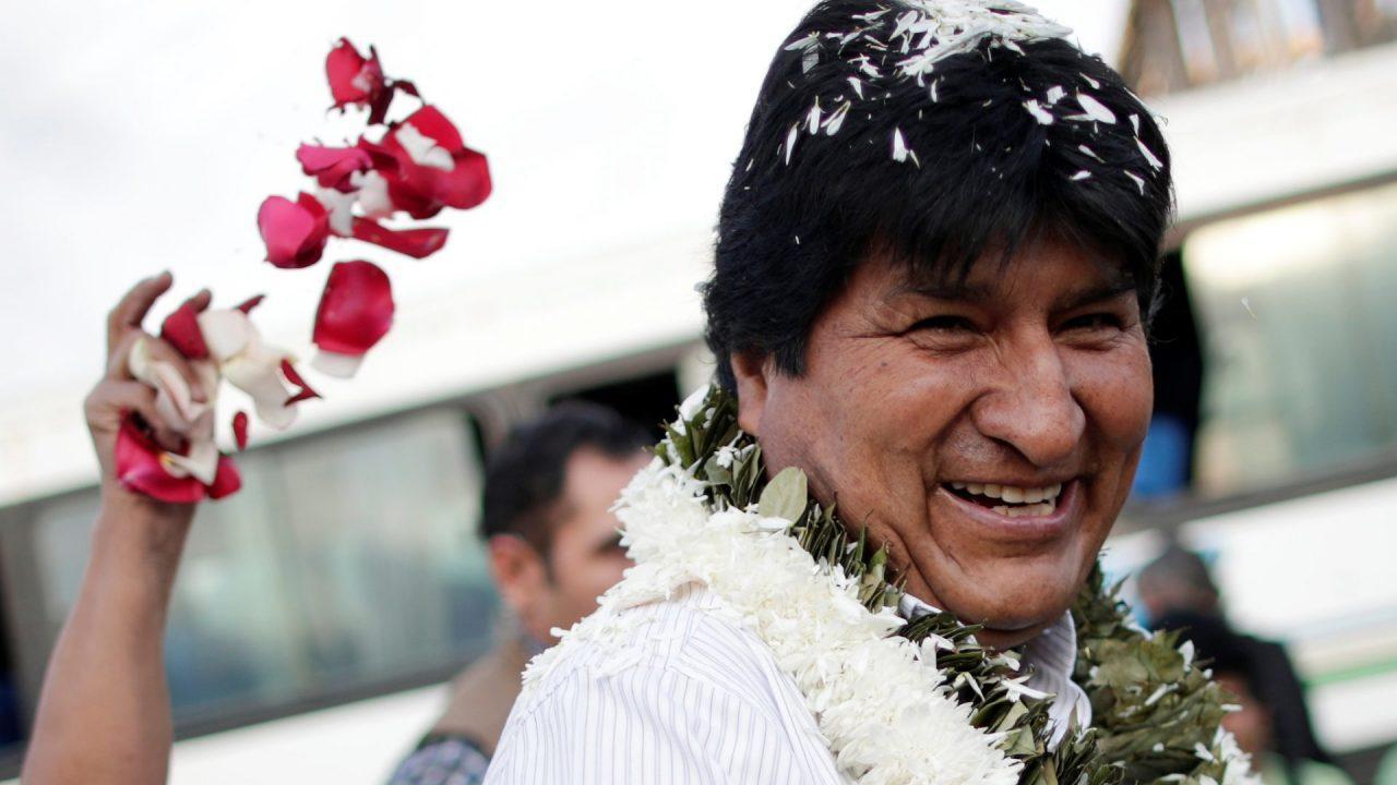 Evo Morales rechaza acusaciones de fraude y se encamina a cuarto mandato presidencial