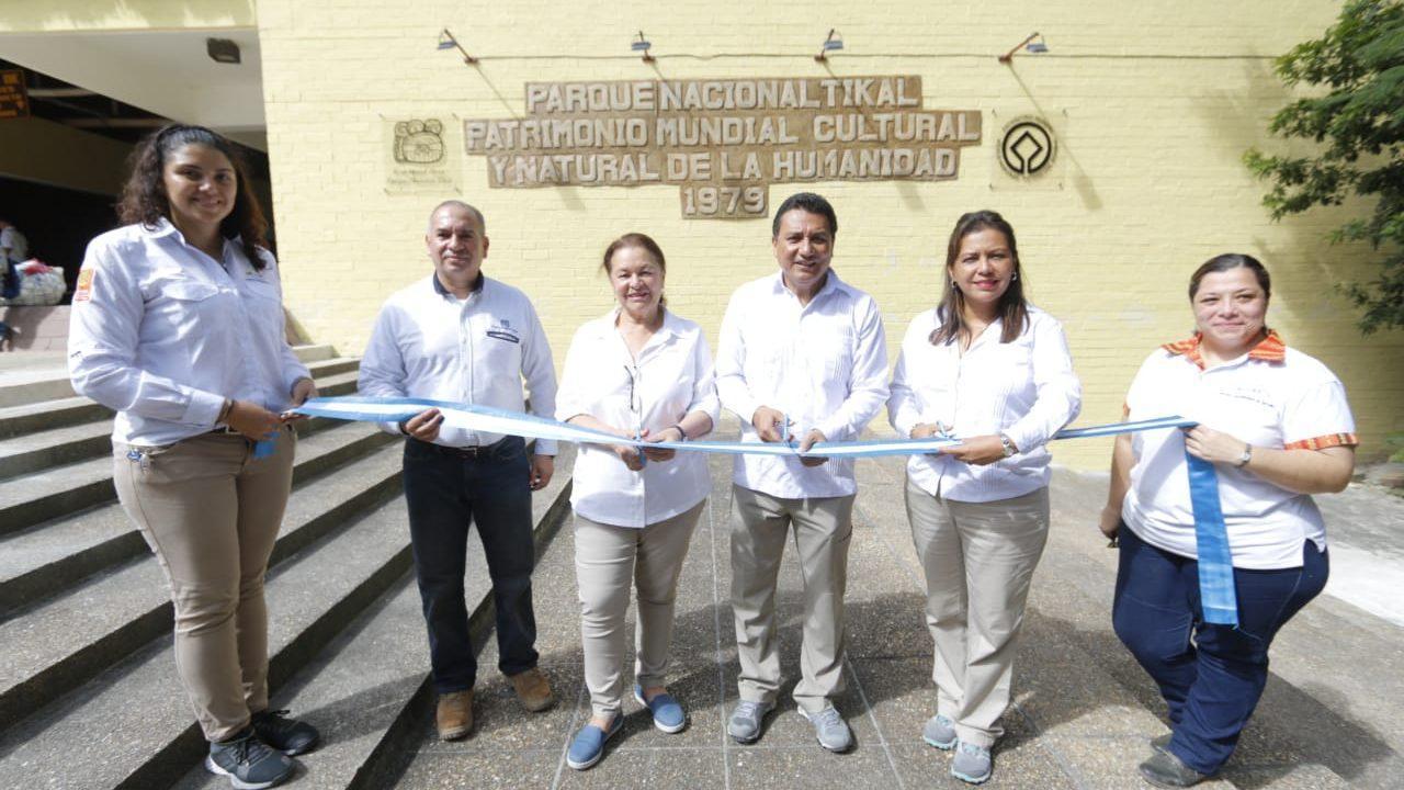 INGUAT entrega trabajos de mejoramiento para la puesta en valor del Parque Nacional Tikal