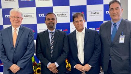 TVS Motor Company inaugura su showroom en Guatemala