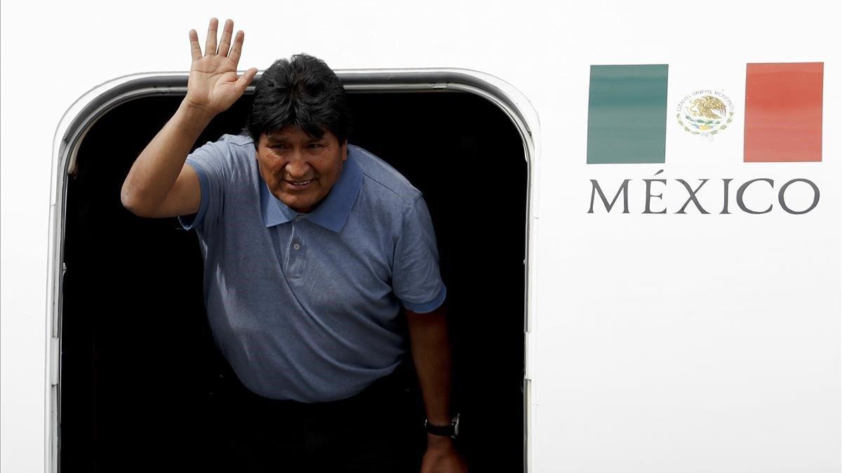 Evo Morales agradece asilo político de México e insiste en golpe de Estado