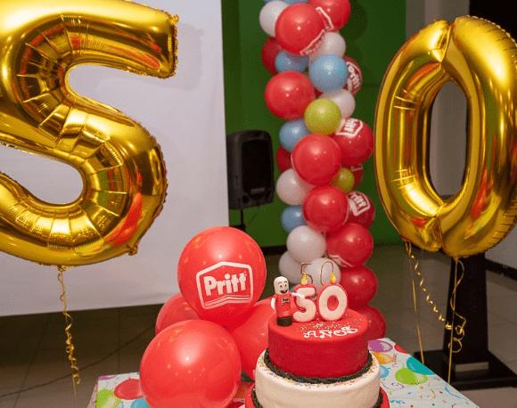 Pritt celebra su 50 aniversario en Guatemala y el mundo