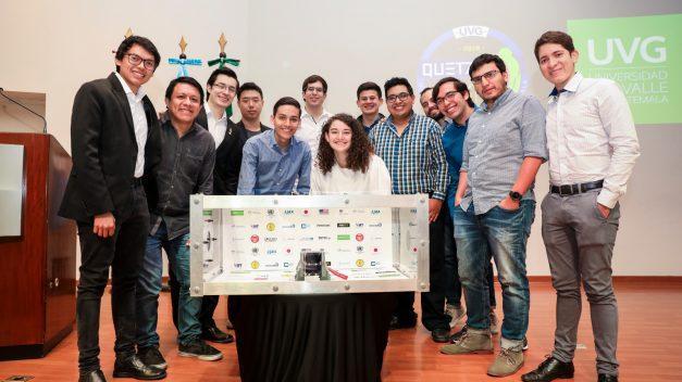 Reconocen a equipo de Universidad del Valle por desarrollo de primer satélite guatemalteco