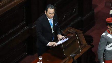 Morales señala logros en seguridad y economía en último informe de gobierno