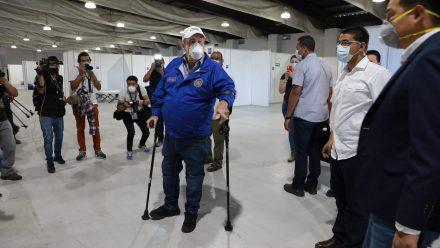Presidente Giammattei decreta Toque de Queda luego de incremento de casos coronavirus