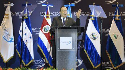Presidente Giammattei reitera llamado a la unión centroamericana para facilitar desarrollo región