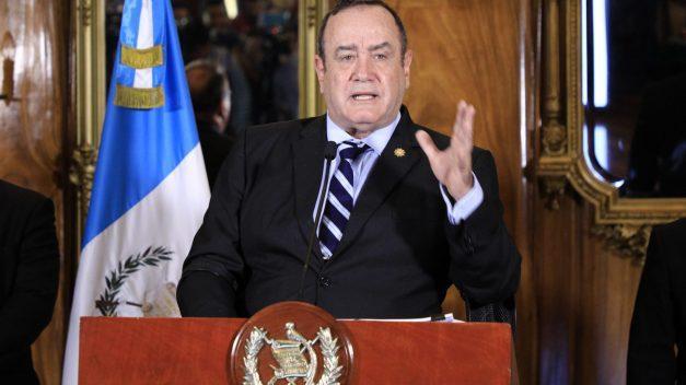 Presidente Giammattei asegura que no existen casos de guatemaltecos afectados por Coronavirus