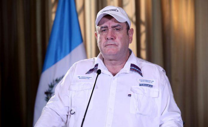 Incremento preocupante de casos de coronavirus: presidente Giammattei