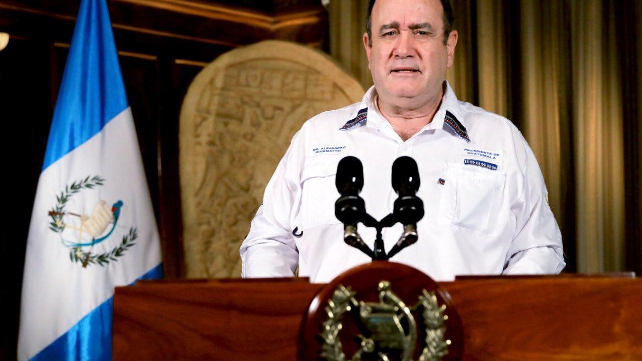 Presidente Giammattei afirma que hay condiciones para próximo retorno a normalidad