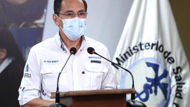Ministerio de Salud: 194 casos nuevos coronavirus. Total sube a tres mil 954 y 59 decesos