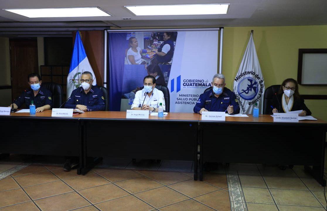 Giammattei pide no bajar la guardia, tras reportarse 617 casos coronavirus