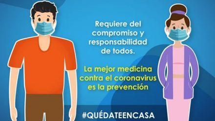 Número mayor de casos, 800 contagiados, y 22 fallecidos por coronavirus