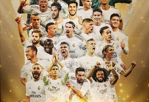 Real Madrid logra título de Liga en tiempos de pandemia