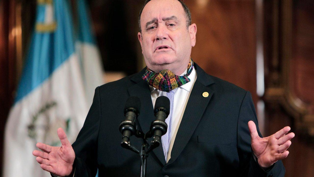 """Presidente Giammattei anuncia medidas para """"nueva normalidad"""""""