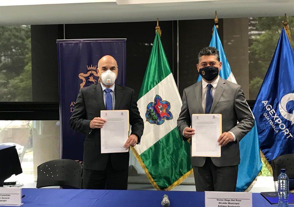Agexport y Municipalidad de Antigua apoyarán reactivación económica de región, tras crisis de Covid-19