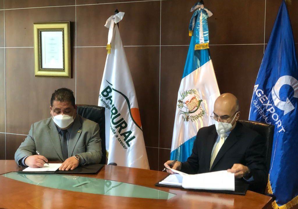 Agexport y Banrural apoyarán a pequeñas empresas en tiempos de pandemia