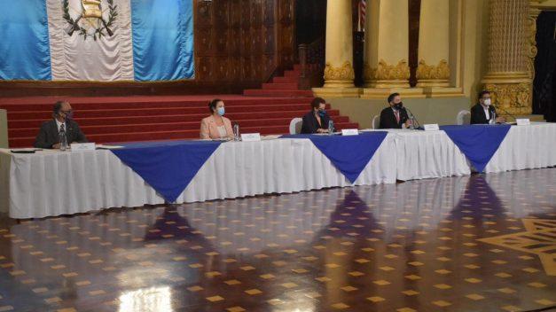 Gobierno anuncia protocolo de seguridad contra Covid-19 para apertura de fronteras