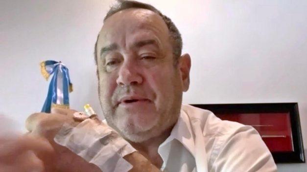 Presidente Giammattei aboga por país con recuperación económica y paz