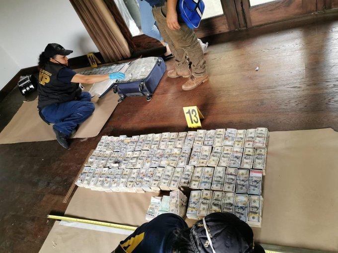 Fiscalía contra Impunidad logra incautación histórica dinero en efectivo