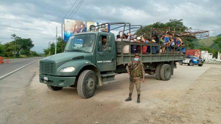 Levantan Estado Prevención tras completar expulsión de migrantes hondureños