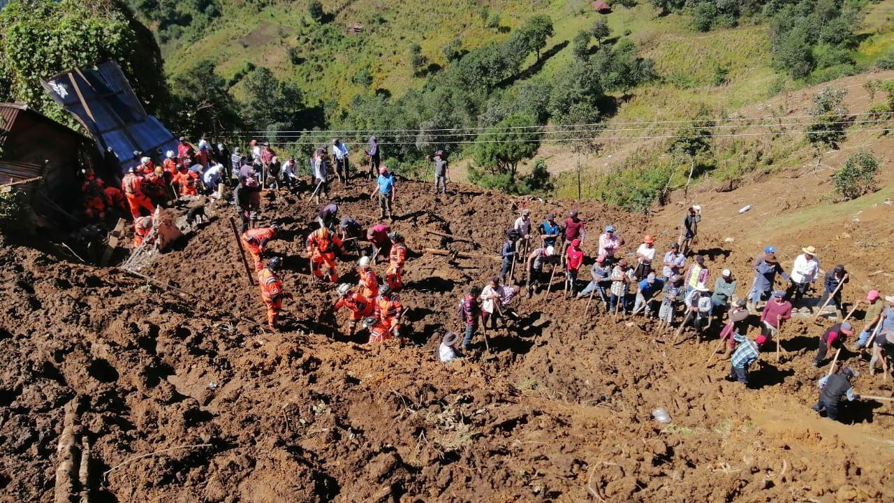Eta afectó a más de 311 mil personas y causó muertos y desaparecidos en Guatemala