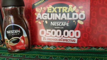 Regresa Extra Aguinaldo de Nescafé que repartirá 500 mil quetzales en premios en efectivo